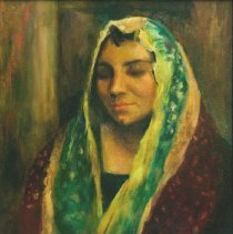 Image of Frances Carroll Brown, Untitled, Oil on Canvas, 24x20in