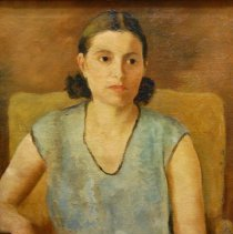 Image of Brown, Frances Carroll - Lady in a Blue Blouse