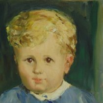 Image of Brown, Frances Carroll - Untitled (portrait of a child)