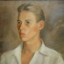 Image of Brown, Frances Carroll - Portrait of a Young Russian Killed by the Germans