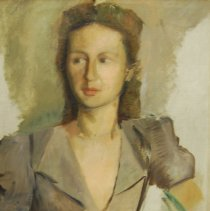 Image of Brown, Frances Carroll - White Russian Lady (unfinished portrait)
