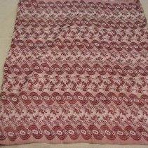 Image of Unknown artist, Skirt, Burmese, Rangoon, Burma, Cotton/Silk