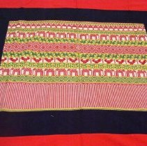 Image of Artist unknown, Curtain, early 20thcent, Hmong, Cotton