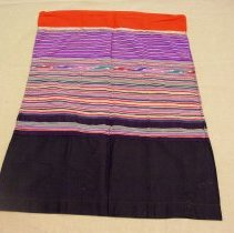 Image of Artist unknown, Skirt (Pha Sin), early 20thcent, Hmong, Cotton/Silk