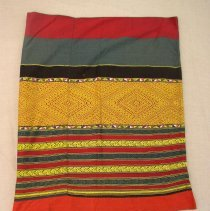 Image of Artist unknown, Skirt (Pha sin), 20thcent, Hmong, Cotton