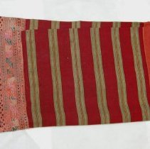 Image of Unknown artist, Tai Phuan culture Fabric, early 20Cent., Silk weaving