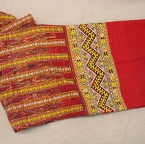 Image of Unknown artist, Skirt, Lao Khrang, Pichit, Thailand, Cotton/Silk