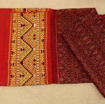 Image of Artist unknown, Skirt (Pha sin), early 20thcent, Hmong, Silk/Cotton