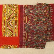 Image of Artist unknown, Skirt (Pah sin), early 20thcent, Hmong, Cotton/Silk