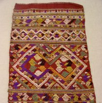 Image of Artist unknown, Scarf (pha sabai), early 20thcent, Hmong, Silk