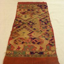 Image of Artist unknown, Shawl (Pha Biang), Hmong, Cotton/Silk
