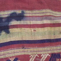 Image of Artist unknown, Shawl (Pha Biang), Hmong, Fabric  (detail 1)