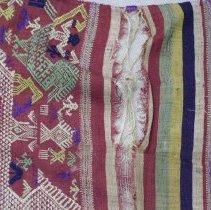 Image of Artist unknown, Shawl (Pha Biang), Hmong, Fabric  (detail 2)