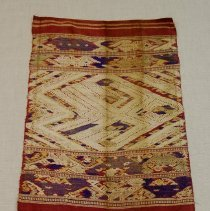 Image of Artist unknown, Shawl (Pha Biang) end only, Hmong, Fabric