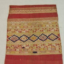Image of Artist unknown, Shawl (Pha Biang), Hmong, Silk/Cotton