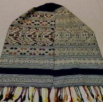 Image of Artist unknown,Tai Neua shawl,1980s,Hmong,Silk/Cotton