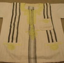 Image of Artist unknown, Shirt (worn by Desmond Tutu), Hmong,  Fabric