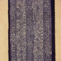 Image of Artist unknown, Skirt, 1980s, Green Hmong, Cotton/Wool