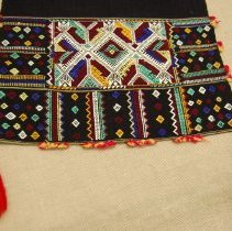 Image of Artist unknown, Headcloth, Hmong, Cotton (detail)