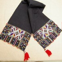 Image of Artist unknown, Headcloth, Hmong, Cotton