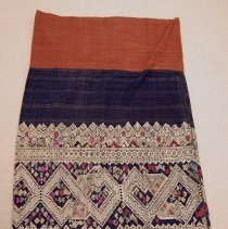 Image of Artist unknown, Pha Sin woman's tubular skirt, ca1900-45, Hmong, Cotton
