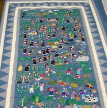 Image of Artist unknown, Story cloth, 1989-90, Hmong, Cotton