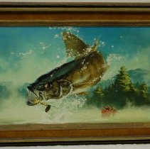 Image of Frank McCarthy, Bass, Oil on Board, 18x29in