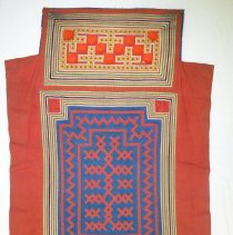 Image of Artist unknown, Baby carrier, (Nyias), Hmong, Cotton/Nylon