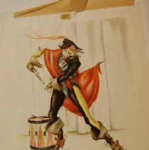 Image of Lawrence Holmbey, El Capitano, 1936-42, Color Litho, 8x10in