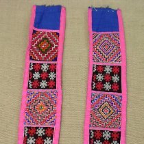 Image of Artist unknown, Embroidered Sash, Hmong, Cotton