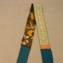 Image of Mao Xiong, Sash, 1940, White Hmong, Cotton
