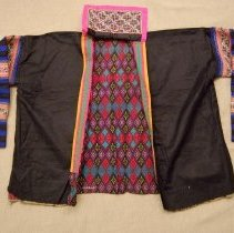 Image of Artist unknown, Jacket, 1940, White Hmong, Cotton/Silk/Satin