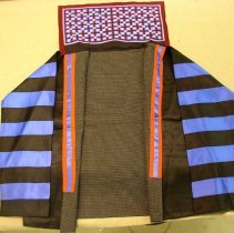 Image of May Yang, Funeral Jacket w/Apron, 1988, White Hmong, Cotton