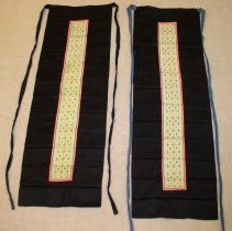 Image of Ying Xiong, Woman's apron, 1963,White Hmong, Cotton