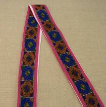 Image of Artist unknown, Belt/sash, 1988, Hmong, Cotton