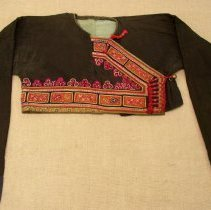 Image of Artist unknown, Boy's jacket, Green Hmong, Cotton