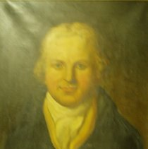 Image of Allen, Portrait of Charles Poyser Drexham, 1810, Oil on canvas, 26x19in
