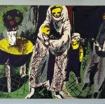 Image of Rudy Autio, Untitled, 1952, Screenprint: Tusche & glue,12x14in