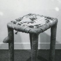 "Image of Ken Little, ""River Table"", 1974, Ceramic & Rope & Paint"