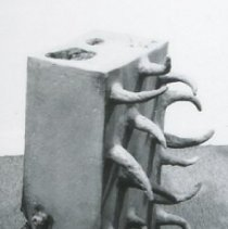 "Image of Ken Little, ""Vertical Situation"", 1972-73, Ceramic"
