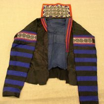 Image of Chou Lor, Jacket, ca1947, White Hmong, Cotton