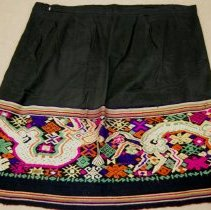 Image of Artist unknown, Skirt, early 20thcent, Luang Prabang/Laos, Cotton/Silk