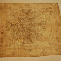 Image of Artist unknown, Amulet cloth (pha yantr),late19thcent,Tai Yuan/Chiang Mai/T