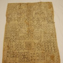 Image of Artist unknown,Amulet vest (pha yantr),late19thcent,Tai Yuan/Chiang Mai/Tha