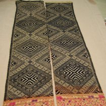 Image of Artist unknown, Traveling blanket (pha hom), Laos, Cotton/Silk
