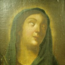 Image of Artist unknown, Madonna, Oil on board, 15x11in