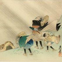 Image of Shibata Zeshin, Storm, ca. 1890