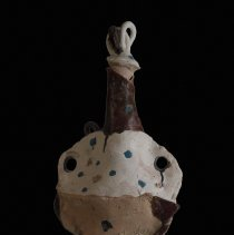 Image of James Leedy, Untitled, ca. 1979, Stoneware, 25x11x8in