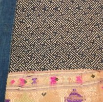 Image of Artist unknown, Blanket (pha hom), Sam Neua/Laos, Silk (detail)