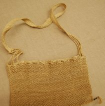 Image of Artist unknown, Fish carrying bag, 1980s, Thailand, Flax